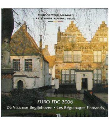 Cartera oficial euroset Belgica 2006  - 2