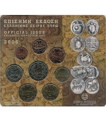 Cartera oficial euroset Grecia 2006  - 2
