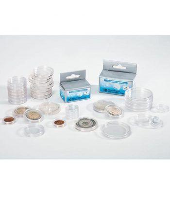 LEUCHTTURM Capsulas para monedas 50 mm. (10 unidades) Capsulas Monedas - 2