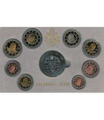 Cartera oficial euroset Vaticano 2006 (Proof)  - 2