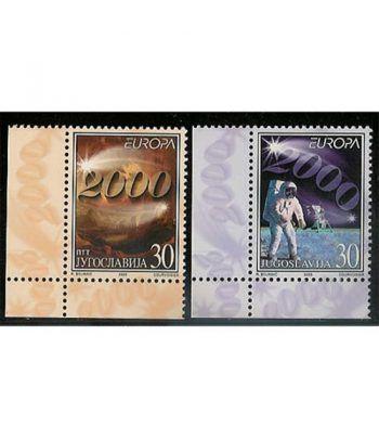 Europa 2000 Yugoslavia (sello)  - 2