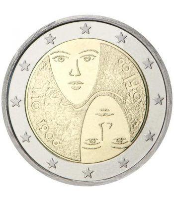 moneda conmemorativa 2 euros Finlandia 2006.  - 2