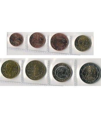 monedas euro serie Grecia 2006  - 2