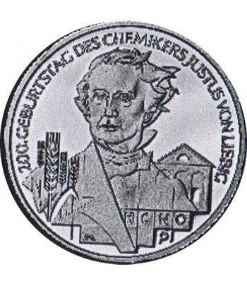 moneda Alemania 10 Euros 2003 J. Justus von Liebig.  - 1