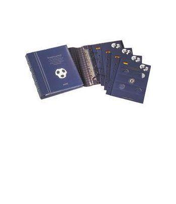 LEUCHTTURM VISTA Album Alemania 10 Euros Futbol Album Monedas Euro - 2