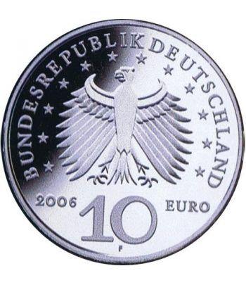 moneda Alemania 10 Euros 2006 F. Karl Friedrich Schinkel.  - 4