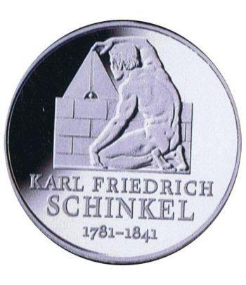moneda Alemania 10 Euros 2006 F. Karl Friedrich Schinkel.  - 1