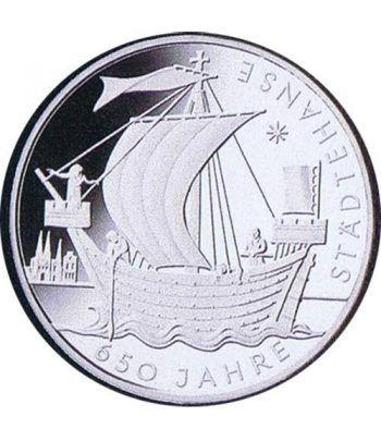 moneda Alemania 10 Euros 2006 J. Barco  - 1