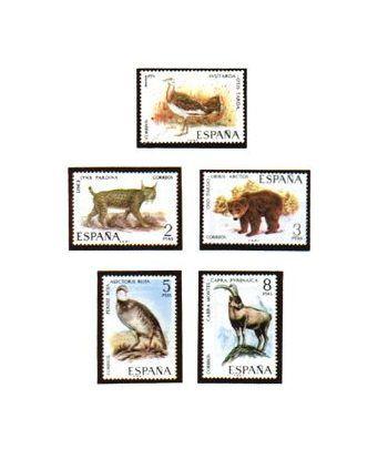 2036/40 Fauna hispánica  - 2