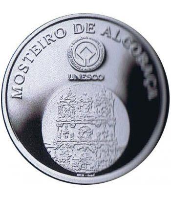 Portugal 5 Euros 2006 Unesco Monasterio de Alcobaça. Plata  - 1