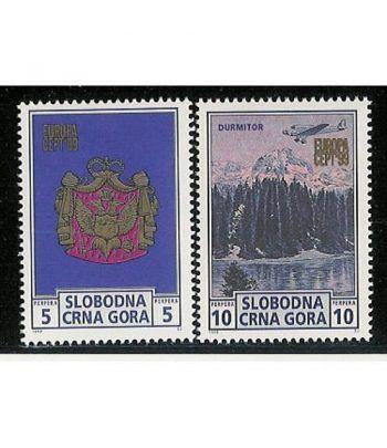 Europa 1999 Montenegro (sellos)  - 2