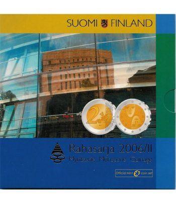 Cartera oficial euroset Finlandia 2006 +2€ II  - 2