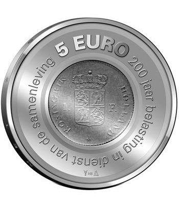 Holanda 5 Euros 2006 200º Aniversario Administración Tributaria.  - 2