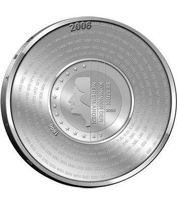 Holanda 5 Euros 2006 200º Aniversario Administración Tributaria.  - 4