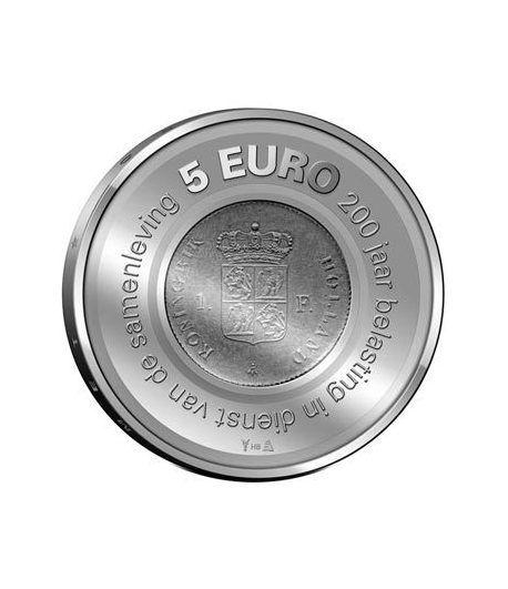 Holanda 5 Euros 2006 200º Aniversario Administración Tributaria.  - 1