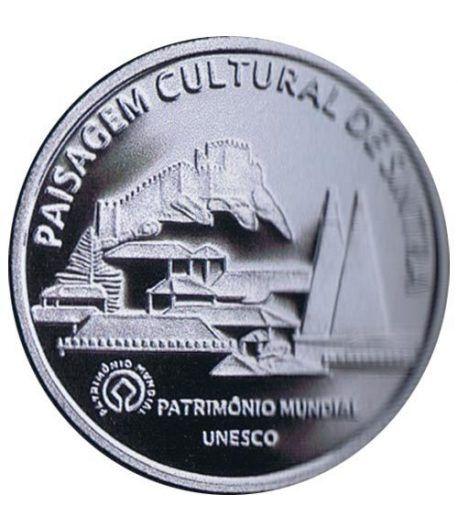 Portugal 5 Euros 2006 Unesco Sintra. Plata  - 1