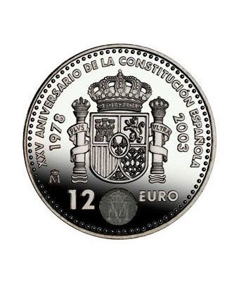 Moneda conmemorativa 12 euros 2003.  - 2