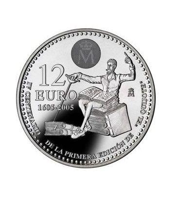 Moneda conmemorativa 12 euros 2005.  - 2