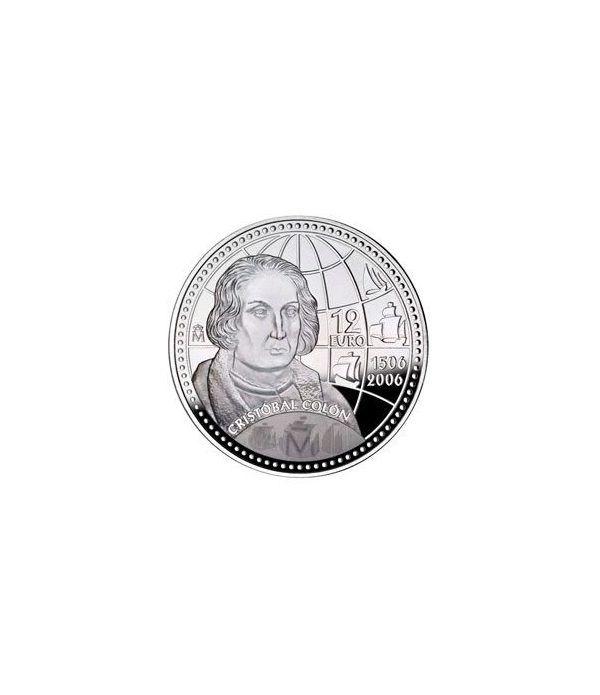 Moneda conmemorativa 12 euros 2006.  - 2