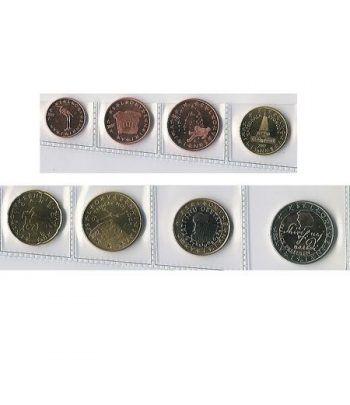 monedas euro serie Eslovenia 2007  - 2