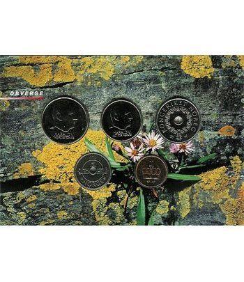 Estuche monedas Noruega 2002  - 2