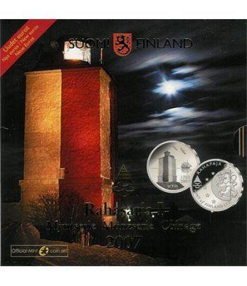 Cartera oficial euroset Finlandia 2007  - 2
