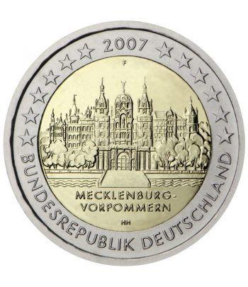 moneda conmemorativa 2 euros Alemania 2007. 5 monedas.  - 2
