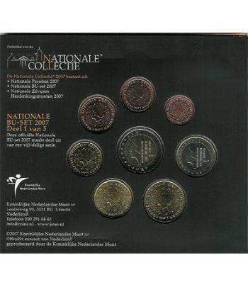 Cartera oficial euroset Holanda 2007  - 2