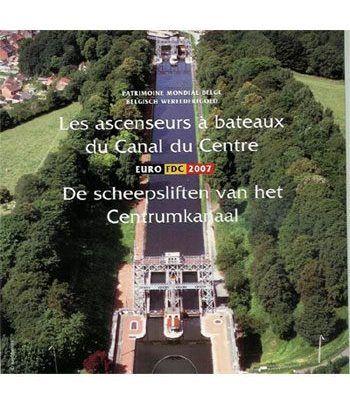 Cartera oficial euroset Belgica 2007  - 2