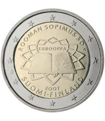 moneda Finlandia 2 euros 2007 Tratado de Roma  - 2