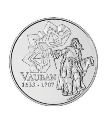 Moneda Francia 1/4 euro 2007 Vauban - estuche  - 1