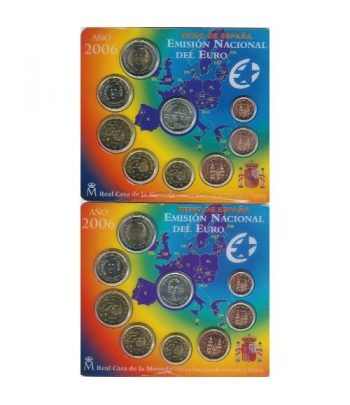 Cartera oficial euroset España 2006 (2 carteras)  - 2