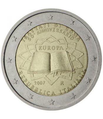 moneda Italia 2 euros 2007 Tratado de Roma  - 2