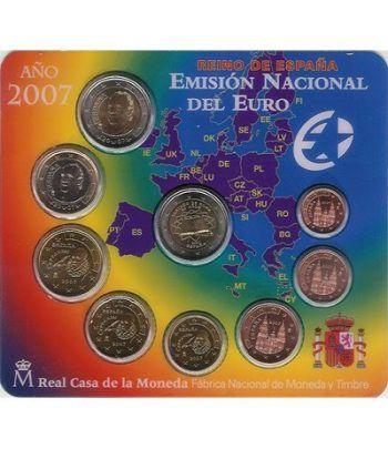 Cartera oficial euroset España 2007 + 2€ Tratado de Roma  - 2