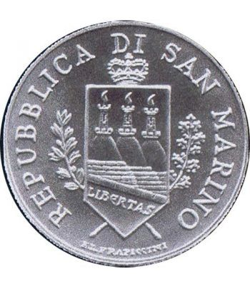 San Marino 5 Euros 2004 Bartolomeo Borghesi. Plata.  - 2