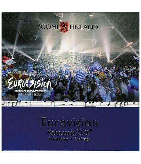 Cartera oficial euroset Finlandia 2007 II. Eurovisión  - 2