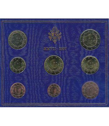 Cartera oficial euroset Vaticano 2007  - 2