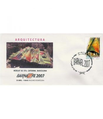 2007 BARNAFIL. Sobre 1º Arquitectura (Mercado Sta.Caterina)  - 2