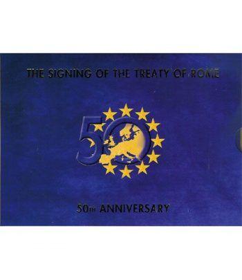 Cartera oficial euroset Irlanda 2007 (tratado de Roma)  - 2