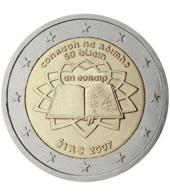 moneda Irlanda 2 euros 2007 Tratado de Roma  - 2