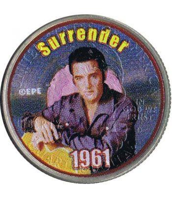 Moneda E.E.U.U. 1/4$ 2002 Elvis 1961 Surrender  - 4
