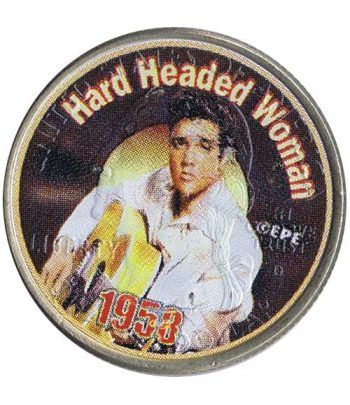 Moneda E.E.U.U. 1/4$ 2002 Elvis 1958 Hard Headed Woman  - 1