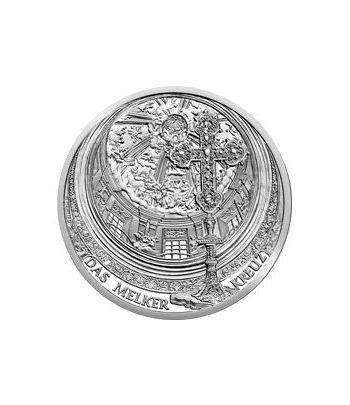 moneda Austria 10 Euros 2007. Monasterio de Melk. Plata.  - 2