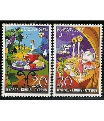 Europa 2005 Chipre (2v)  - 2