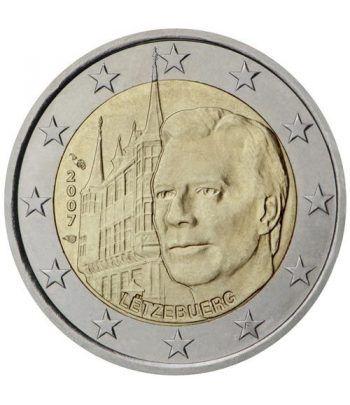 moneda conmemorativa 2 euros Luxemburgo 2007.  - 2