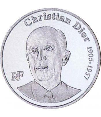 Moneda Francia 1 1/2 euro 2007 Christian Dior  - 4