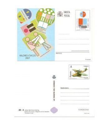 Entero Postal Año 2007 completo  - 2