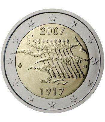 moneda conmemorativa 2 euros Finlandia 2007.  - 2
