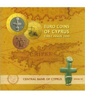 Cartera oficial euroset Chipre 2008  - 2