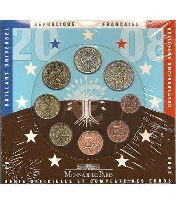 Cartera oficial euroset Francia 2008  - 2